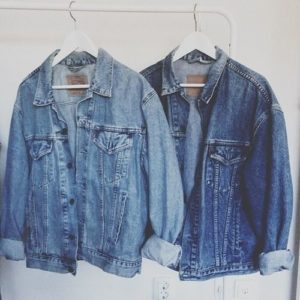 used denim jackets