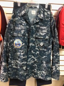Navy Cammo Jacket